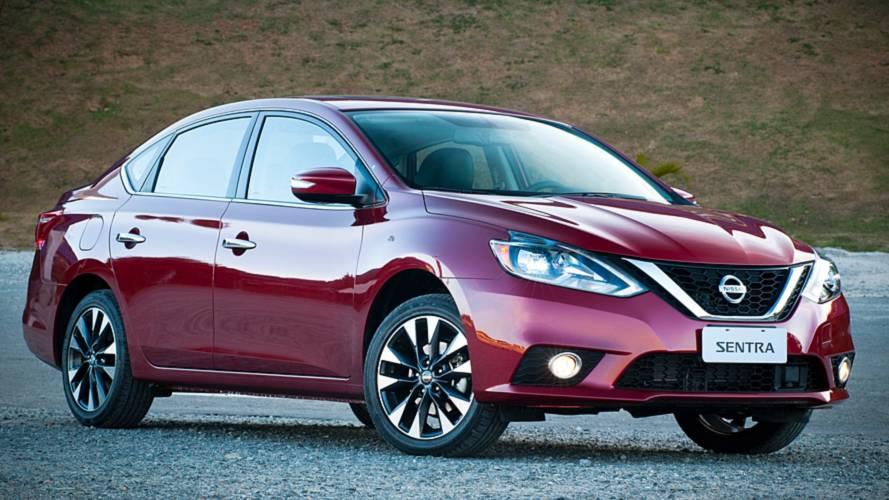 Nissan Sentra ganha novo sistema multimídia na linha 2019