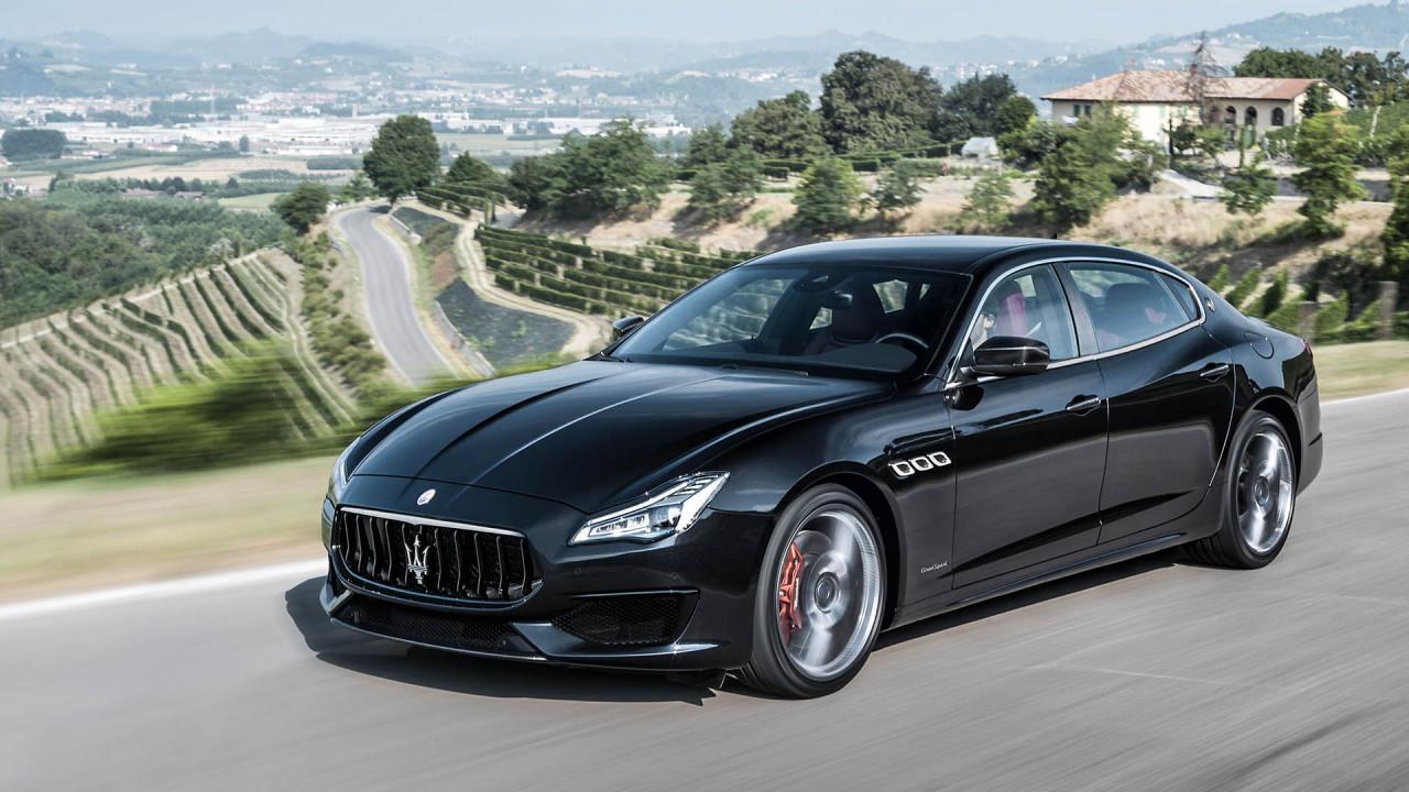 Platz 14: Maserati Quattroporte GTS; Leistung: 530 PS