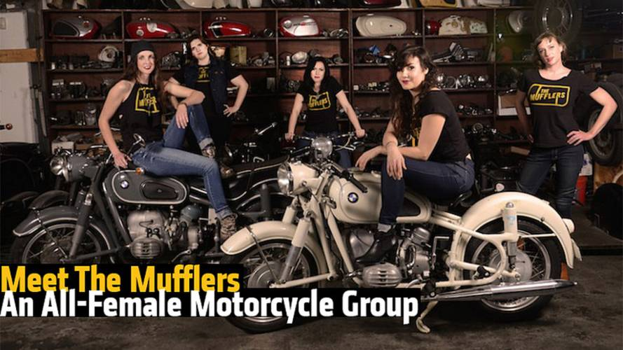 Meet The Mufflers - An All-Female Motorcycle Group
