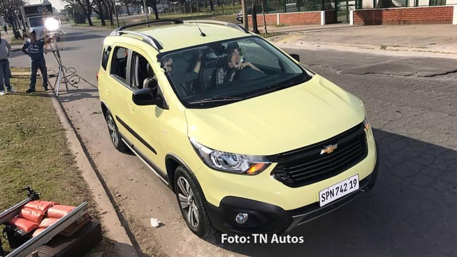 Chevrolet Spin Activ 2019 - Flagra