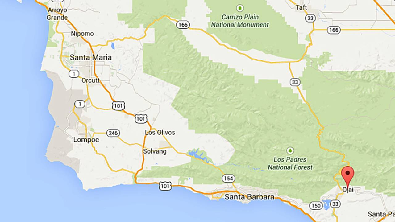 Highway One California Map.Burger Barn And Hwy 33 Best One Day Road Trips Southern California