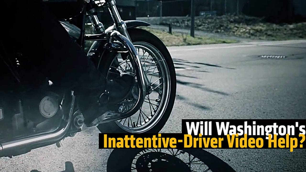 Will Washington's Inattentive Driver Video Help?