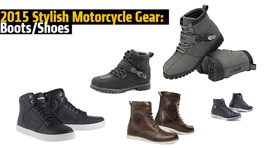 2015 Stylish Motorcycle Gear: Boots/Shoes