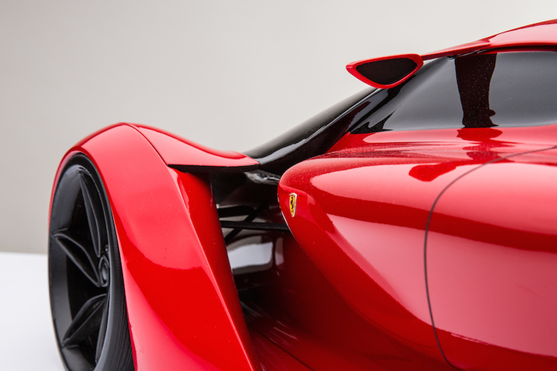 This is the 1,200-HP Ferrari Hypercar of the Future