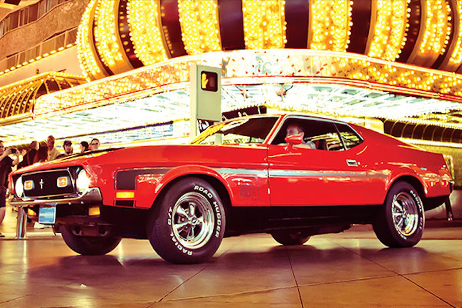 Remember When James Bond Drove A 1971 Mustang Mach 1?