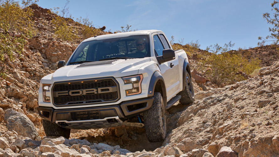 2017 Ford F-150 Raptor Baja mode