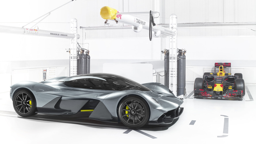 Aston Martin and Red Bull's hypercar is here, and it's glorious