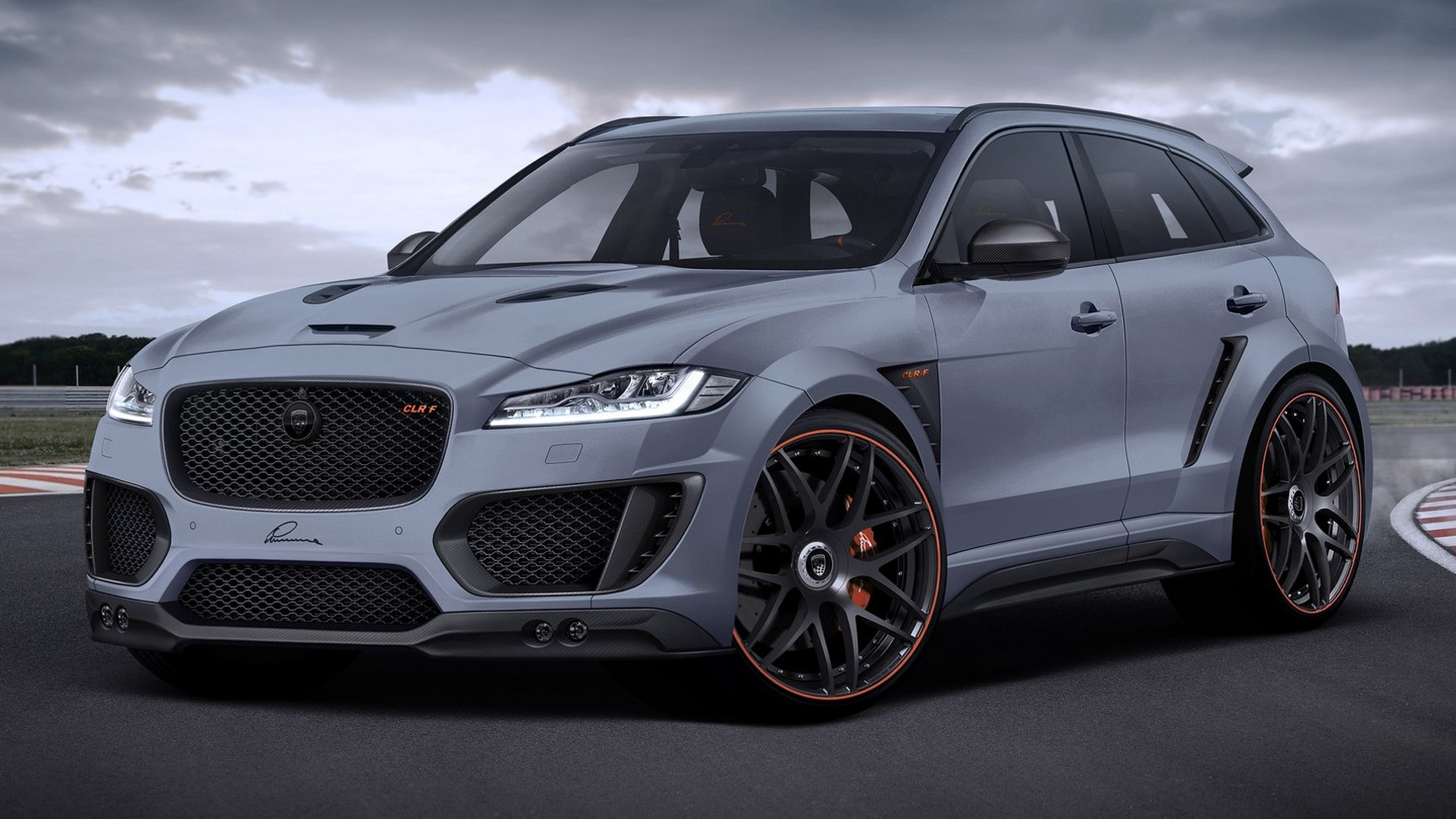 Lumma Design Spices Up Jaguar F Pace With 24 Inch Wheels