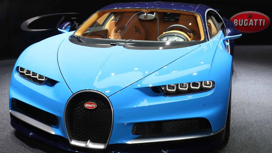 Bugatti Chiron officially revealed with 261 mph top speed