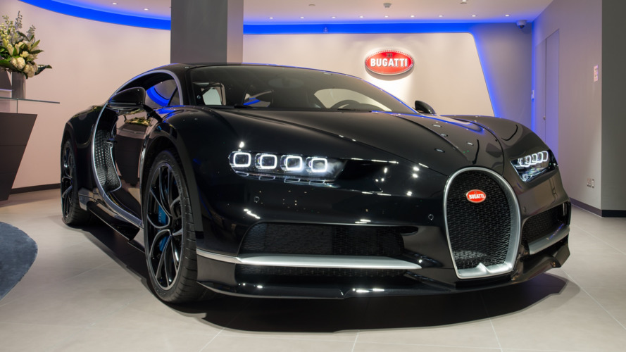 Bugatti ouvre son premier showroom à Londres