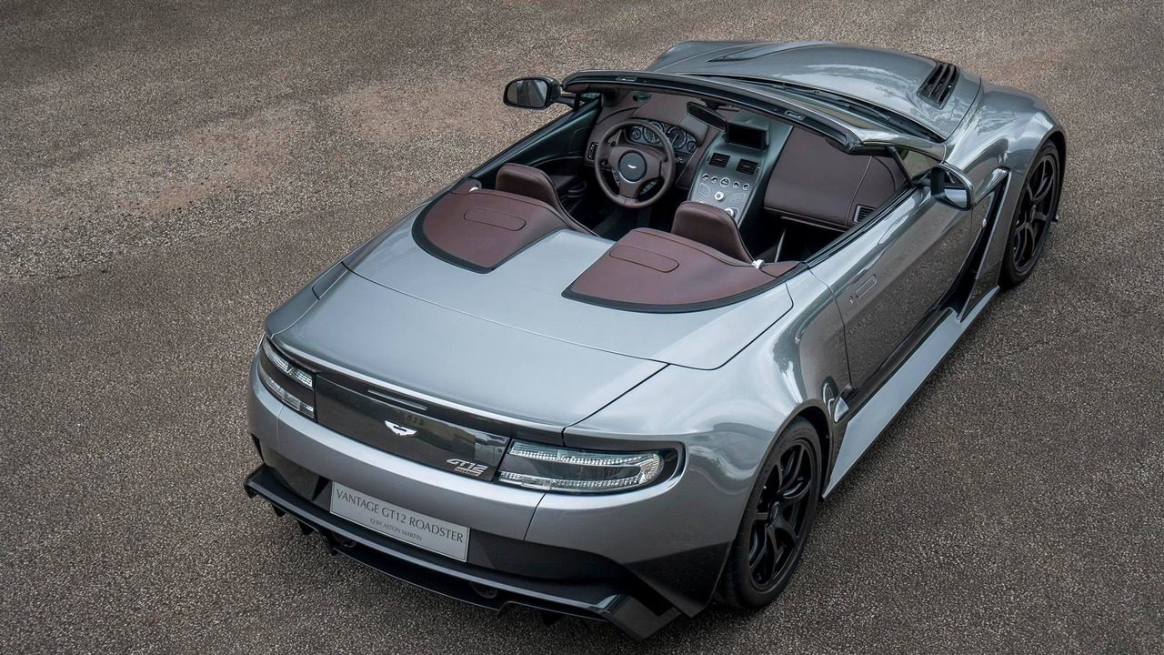 Aston Martin Made A Gorgeous Vantage Gt12 Roadster But You Can T Have It