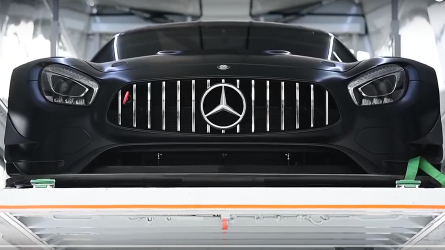 Mercedes-AMG GT3 looks devilish in shakedown video