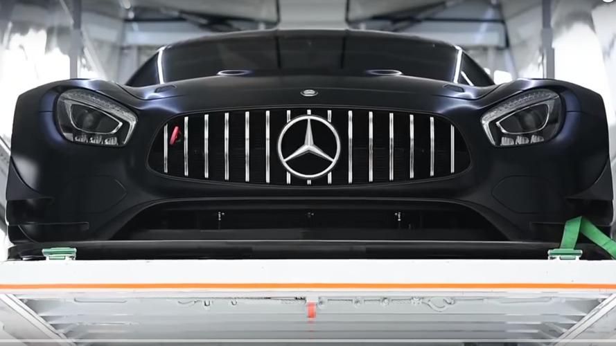 Vidéo - La Mercedes-AMG GT3 en test