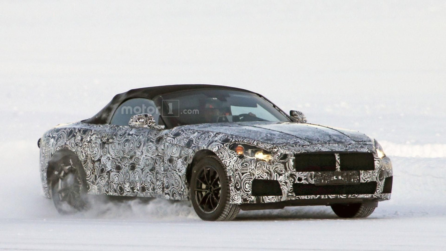 BMW Z5 spied in Sweden