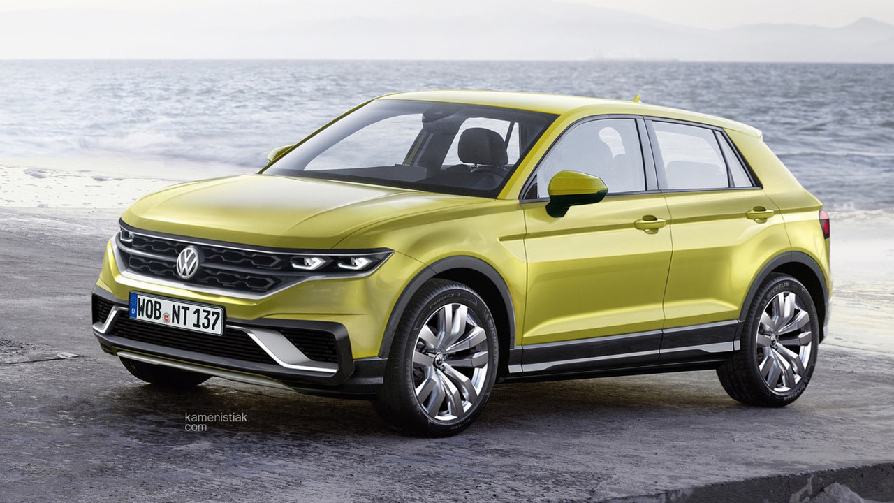 VW Polo-based crossover rendering