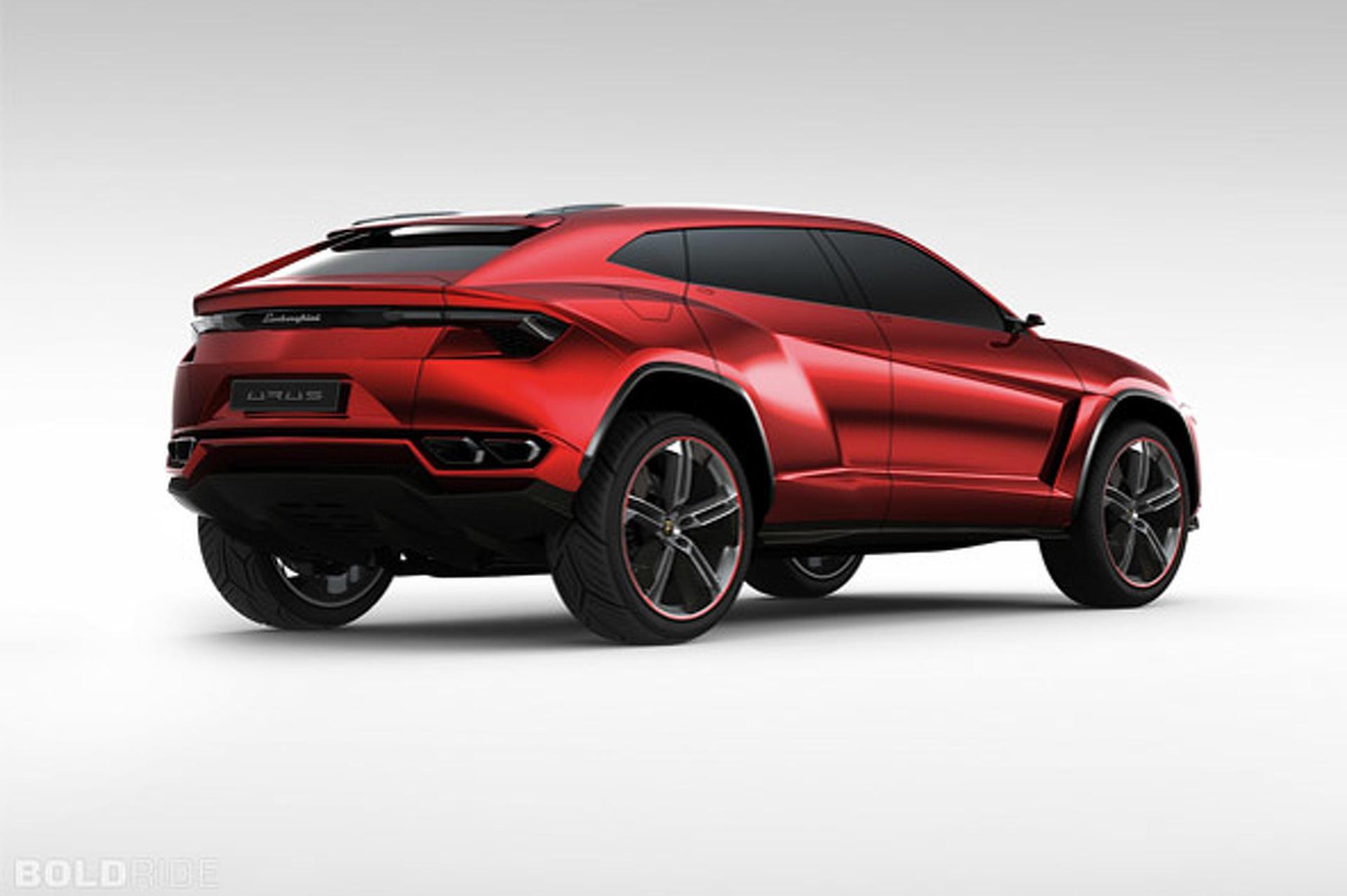 Unveiled Lamborghini Urus SUV Concept