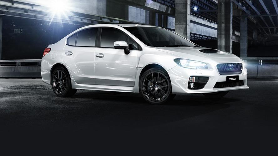 Subaru WRX Special Edition for Australia celebrates 50,000 WRX sales