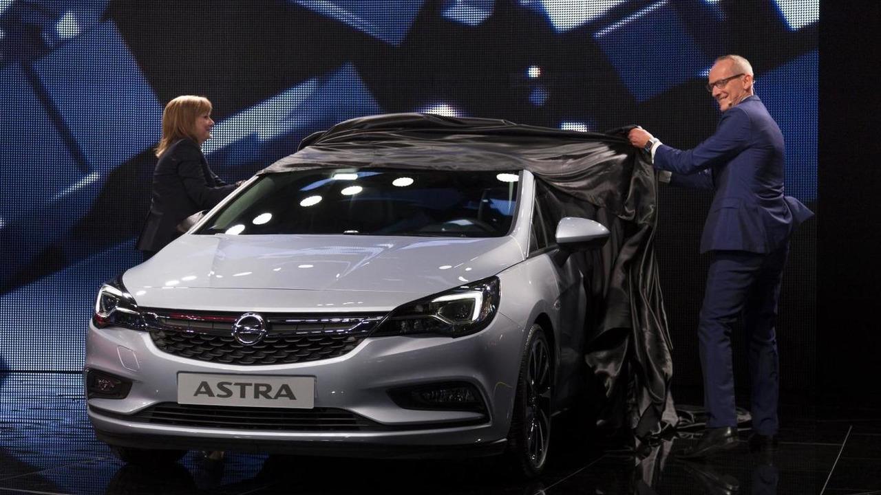 Opel Astra making its world premiere at 2015 IAA