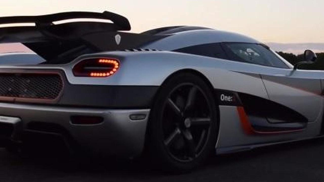 Koenigsegg One:1 breaking 0-300-0 km/h record