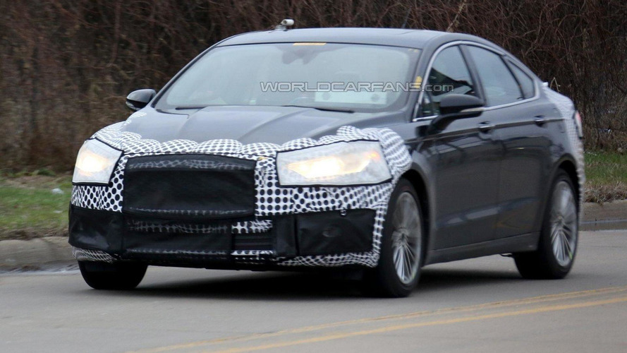 2017 Ford Fusion facelift returns in new spy photos