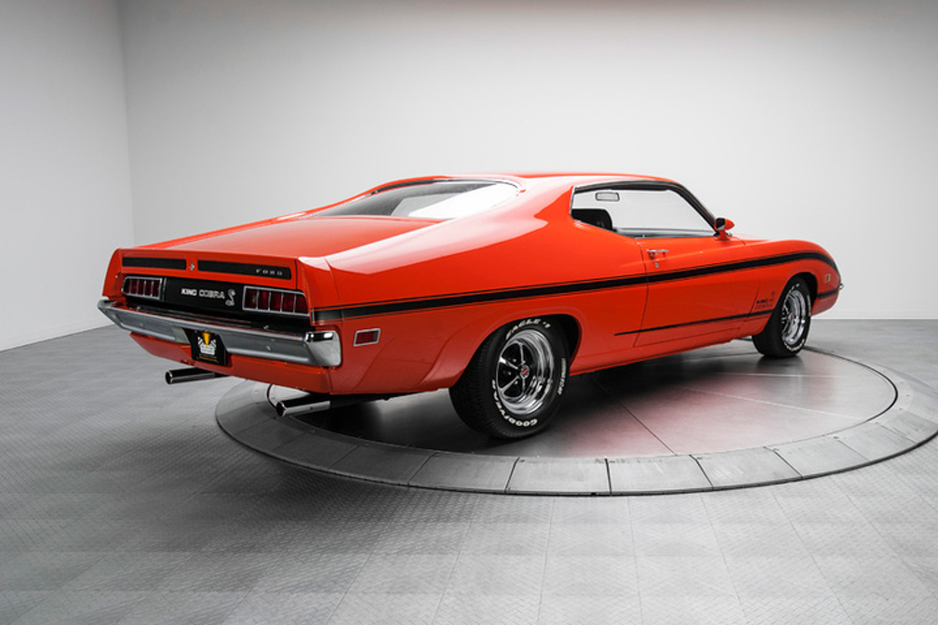 Rare Ford Torino Prototype To Display At Hilton Head Concours 1968 Coronet Engine Wiring Diagram