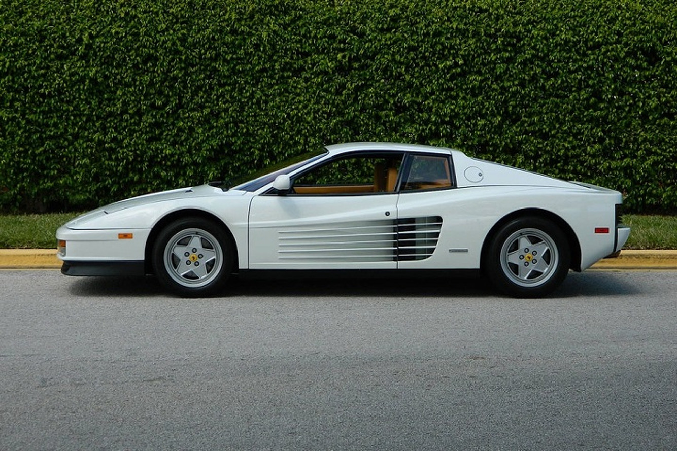 You Can Buy The Wolf of Wall Street's Ferrari Testarossa