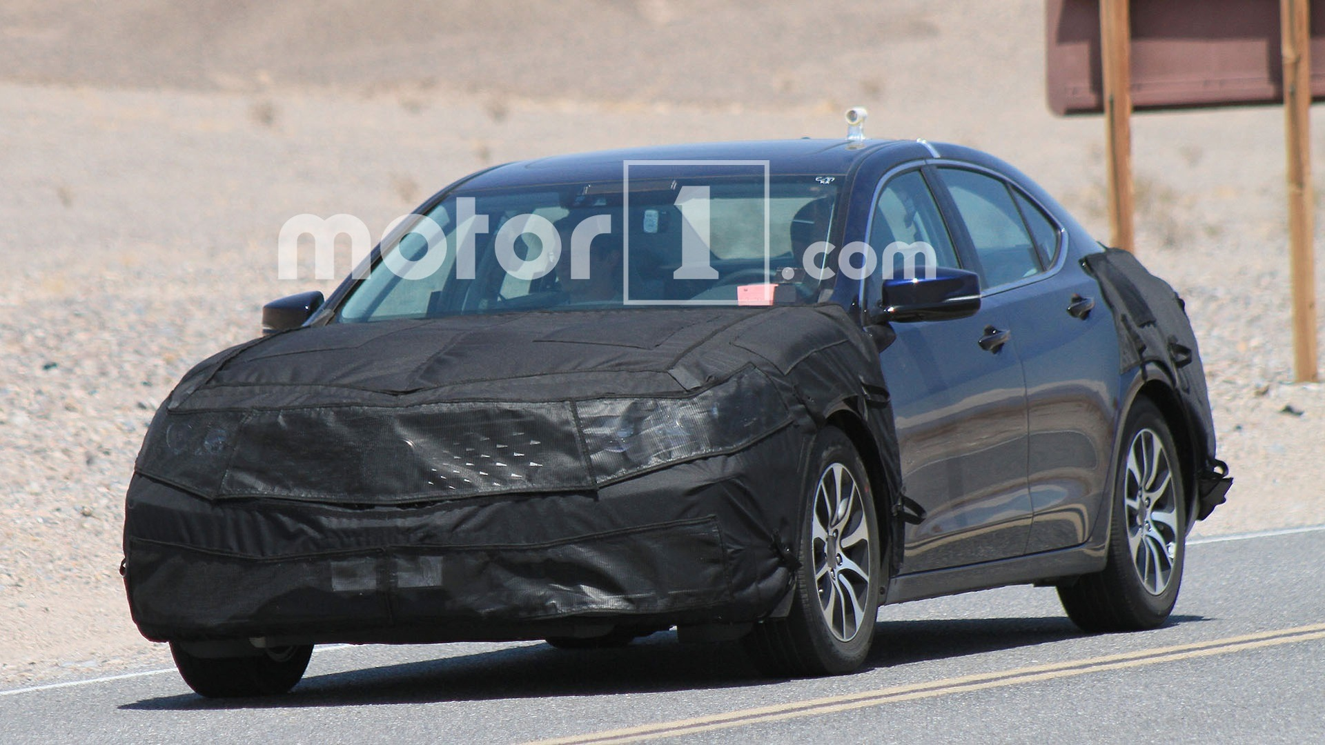 Acura Tlx Shows A New Face In The Desert