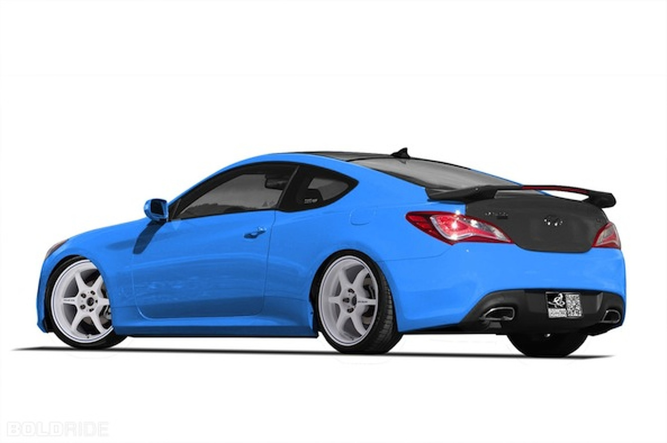 Hyundai, Bisimoto Prepping 1,000HP Genesis Coupe for SEMA