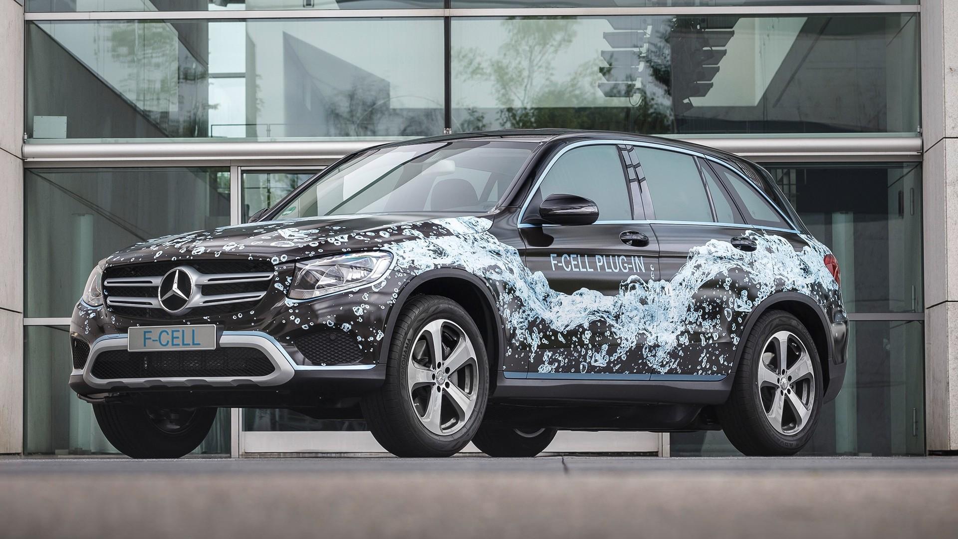 Mercedes-Benz GLC F-Cell 2017 hydrogen crossover 14