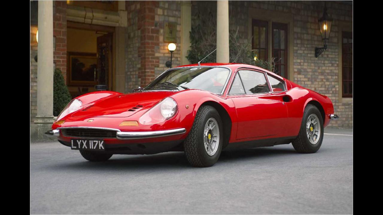 Ferrari Dino 246: Die 2 (1970/71, GTB), Hart aber herzlich (1979-84, GTS)