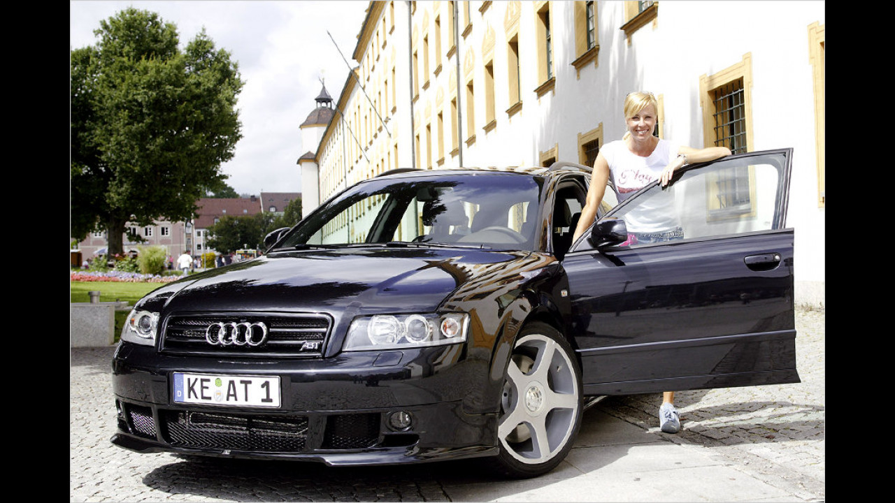 Sonja Zietlow fährt auch Abt