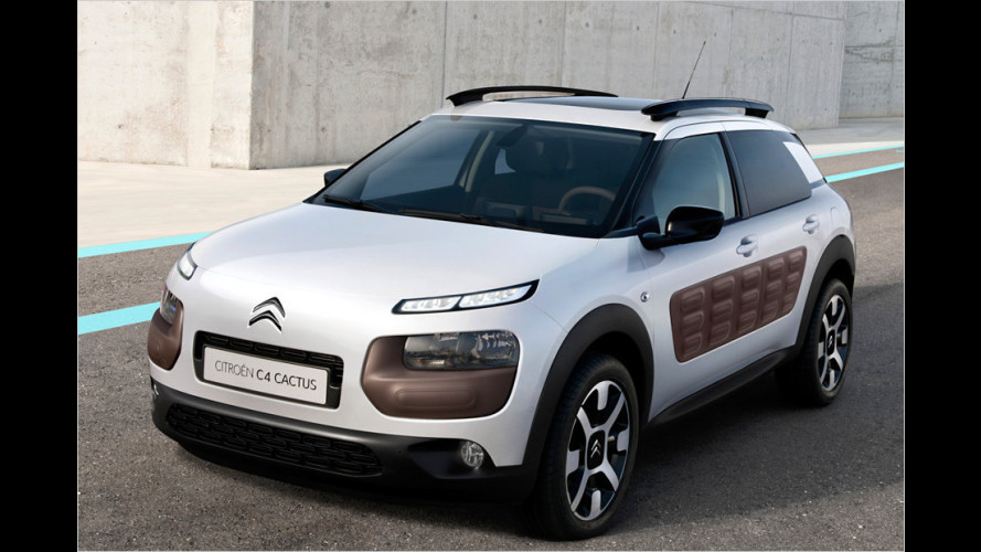 Citroën bringt den ungewöhnlichen C4 Cactus