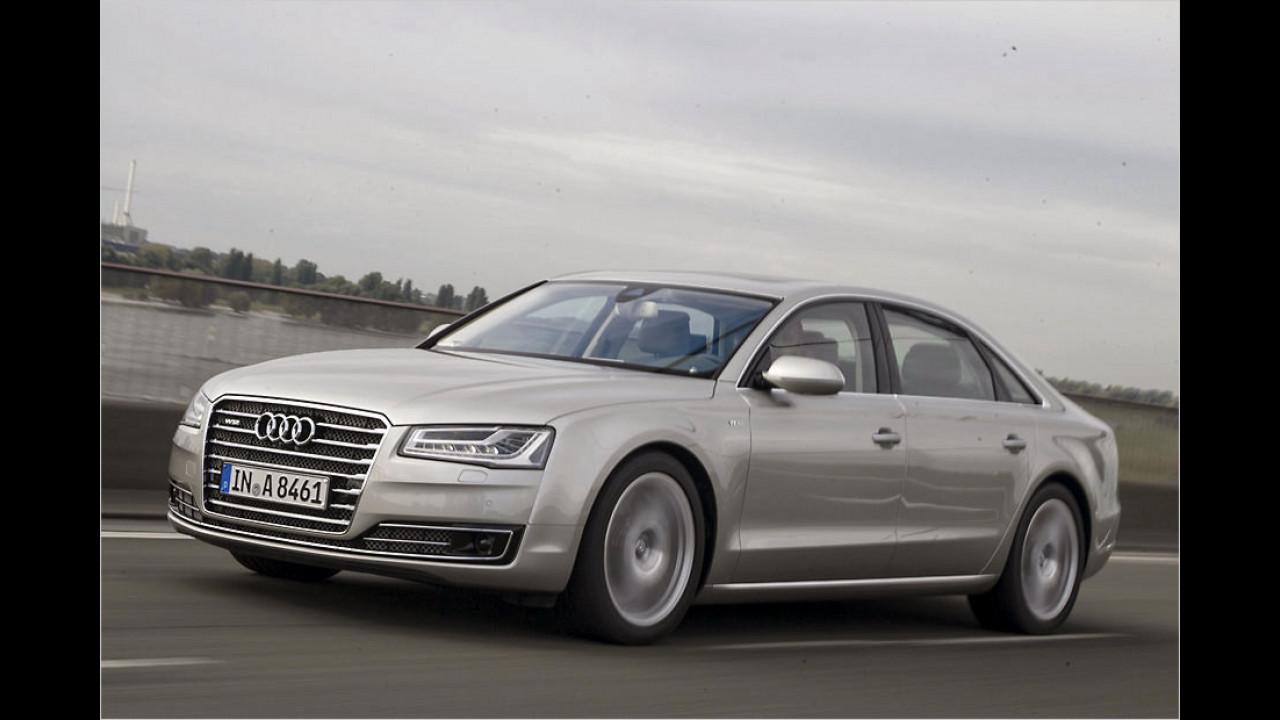 Audi: A8 L W12?