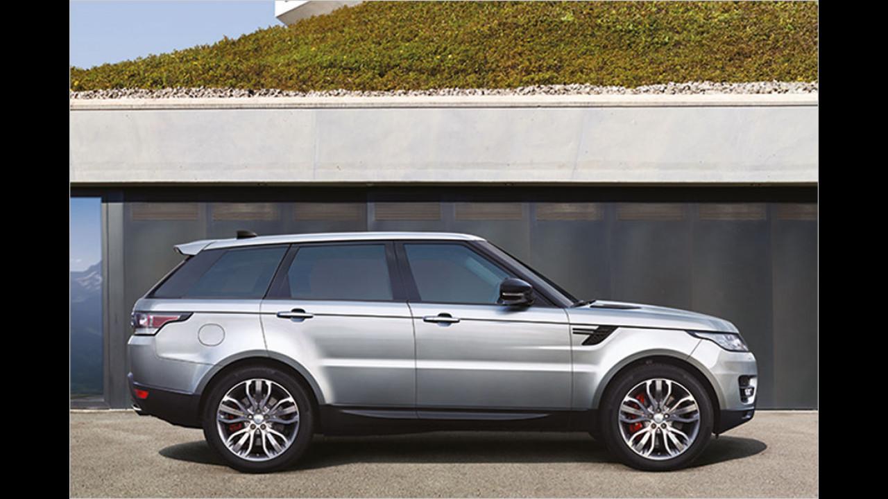 Platz 4: Range Rover Sport 5.0 V8