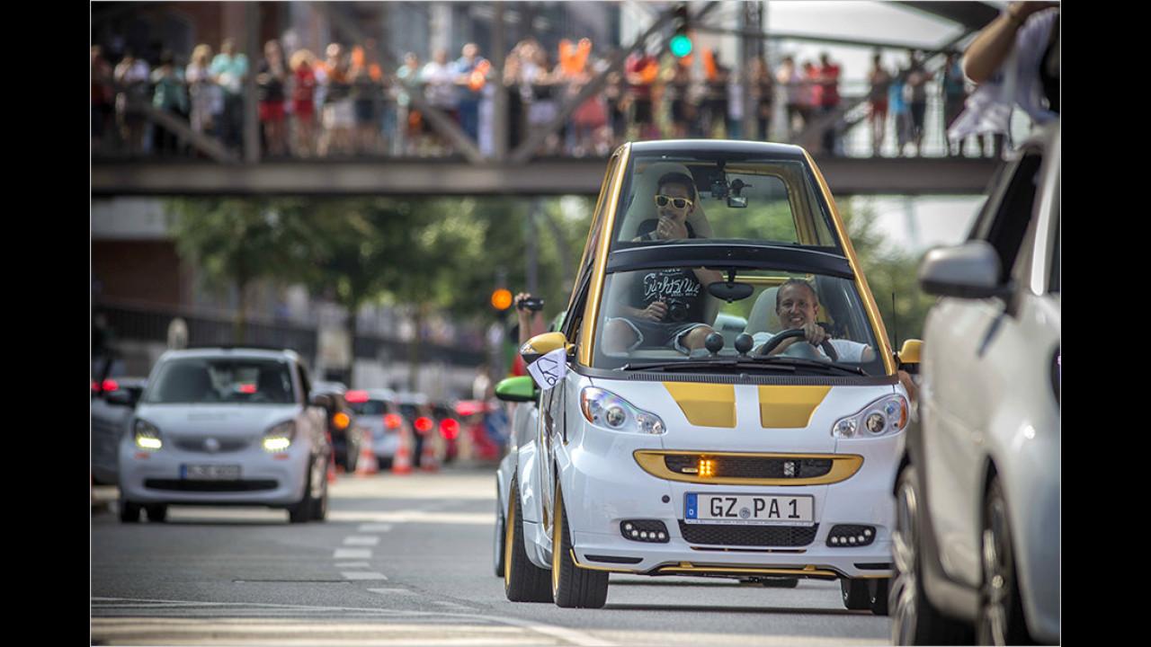 Ein Smart für den Papst