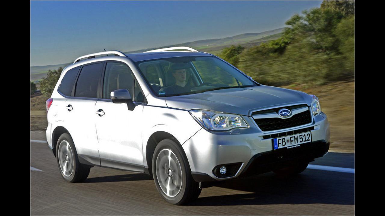 Flop: Subaru Forester, Baujahr 2012, 140 Standtage