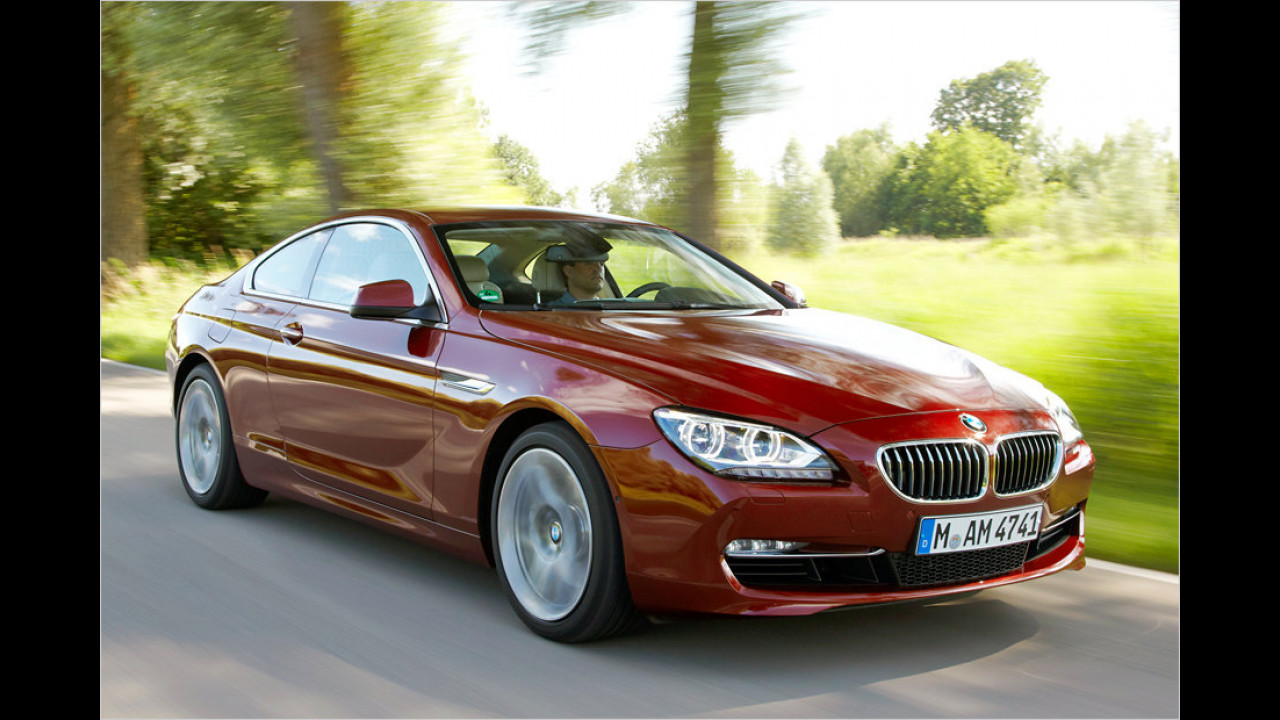 Oberklasse: BMW 640d Coupé Automatic
