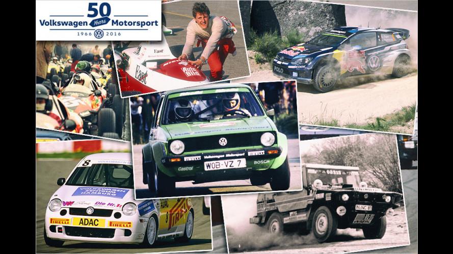 50 Jahre VW Motorsport