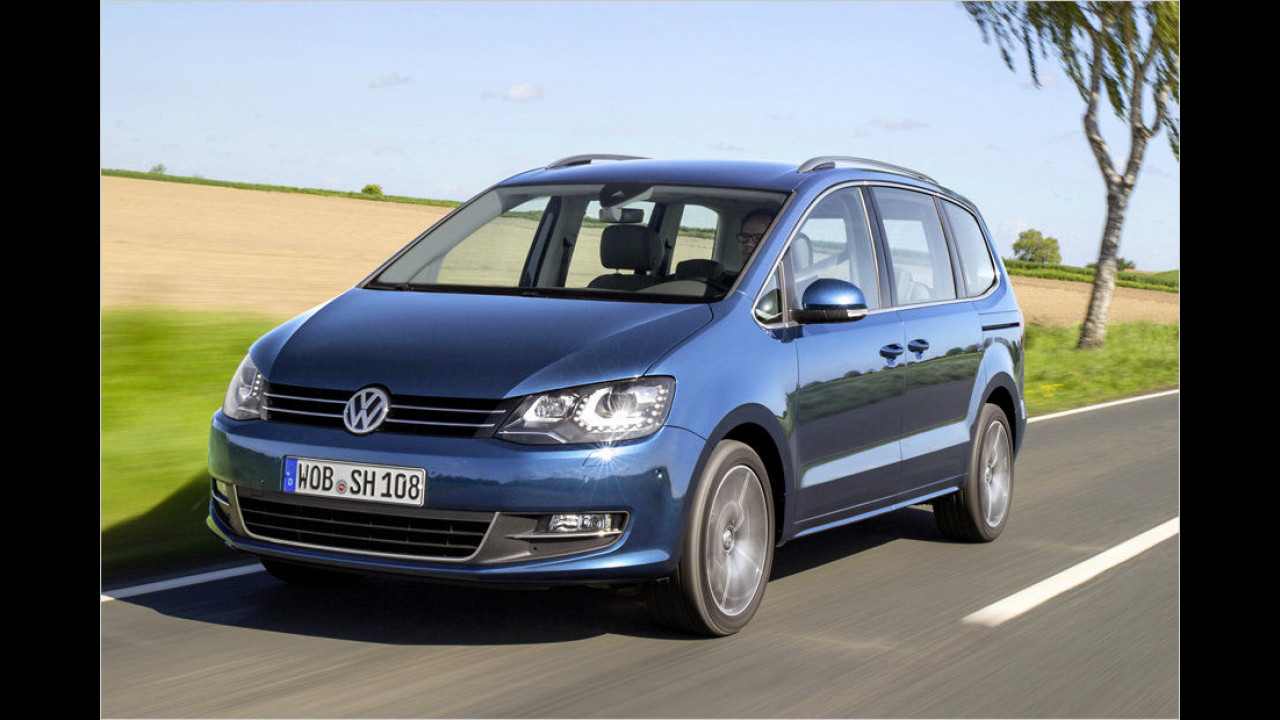 Große Vans: VW Sharan 2.0 TDI SCR DSG