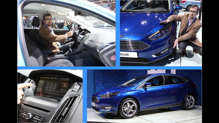 Sitzprobe im gelifteten Ford Focus