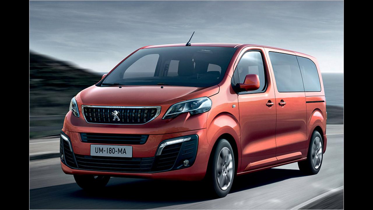 Transporter: Peugeot Traveller