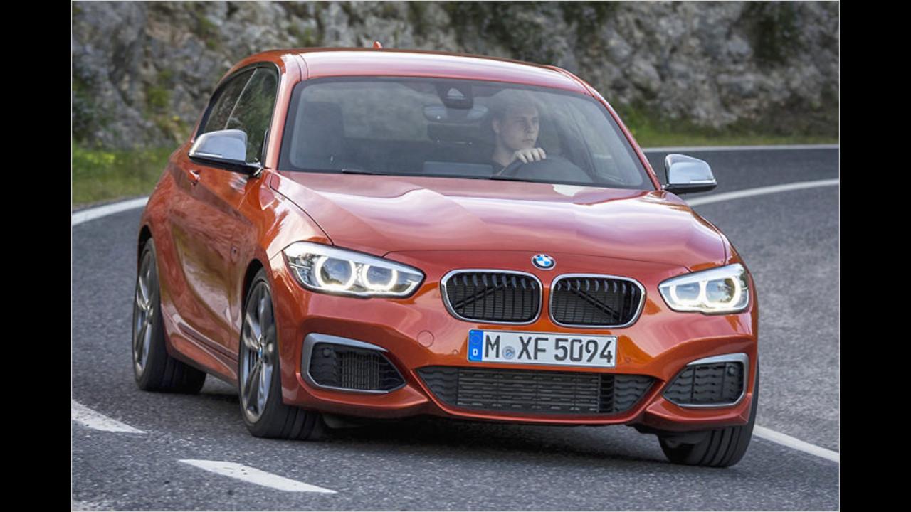 6. BMW M135i: 4,9 Sekunden