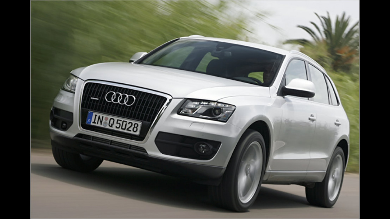 Geländewagen/SUV, 100.001 bis 150.000 Kilometer: Audi Q5 (2008)
