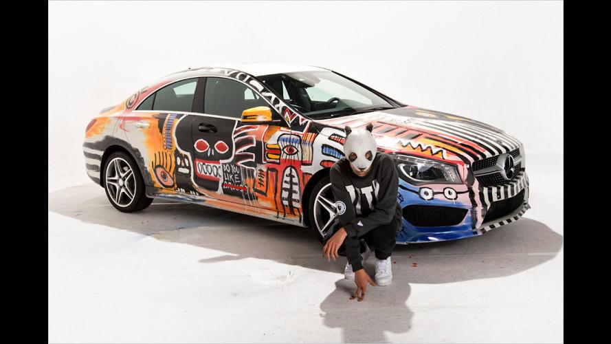 Rapper Cro verschenkt Mercedes