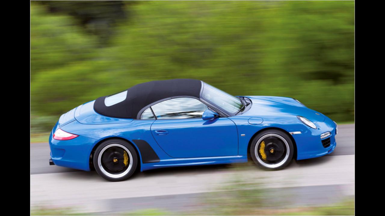 Porsche 911 Speedster (997; 2010)