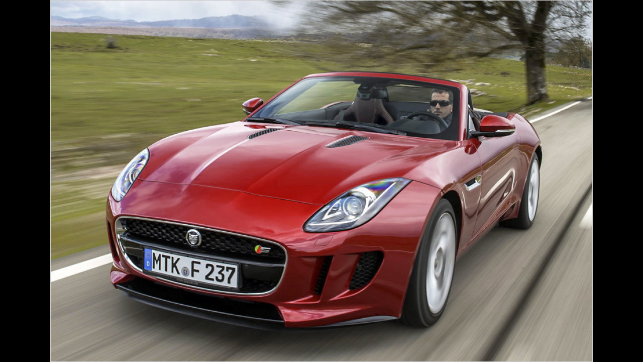 Top: Jaguar F-Type