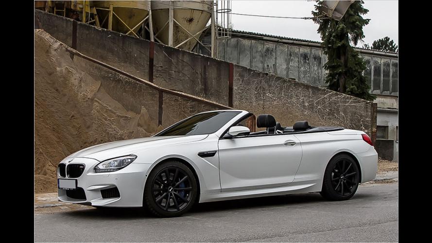 Feuer und Eis: Noelle BMW M6 Cabrio