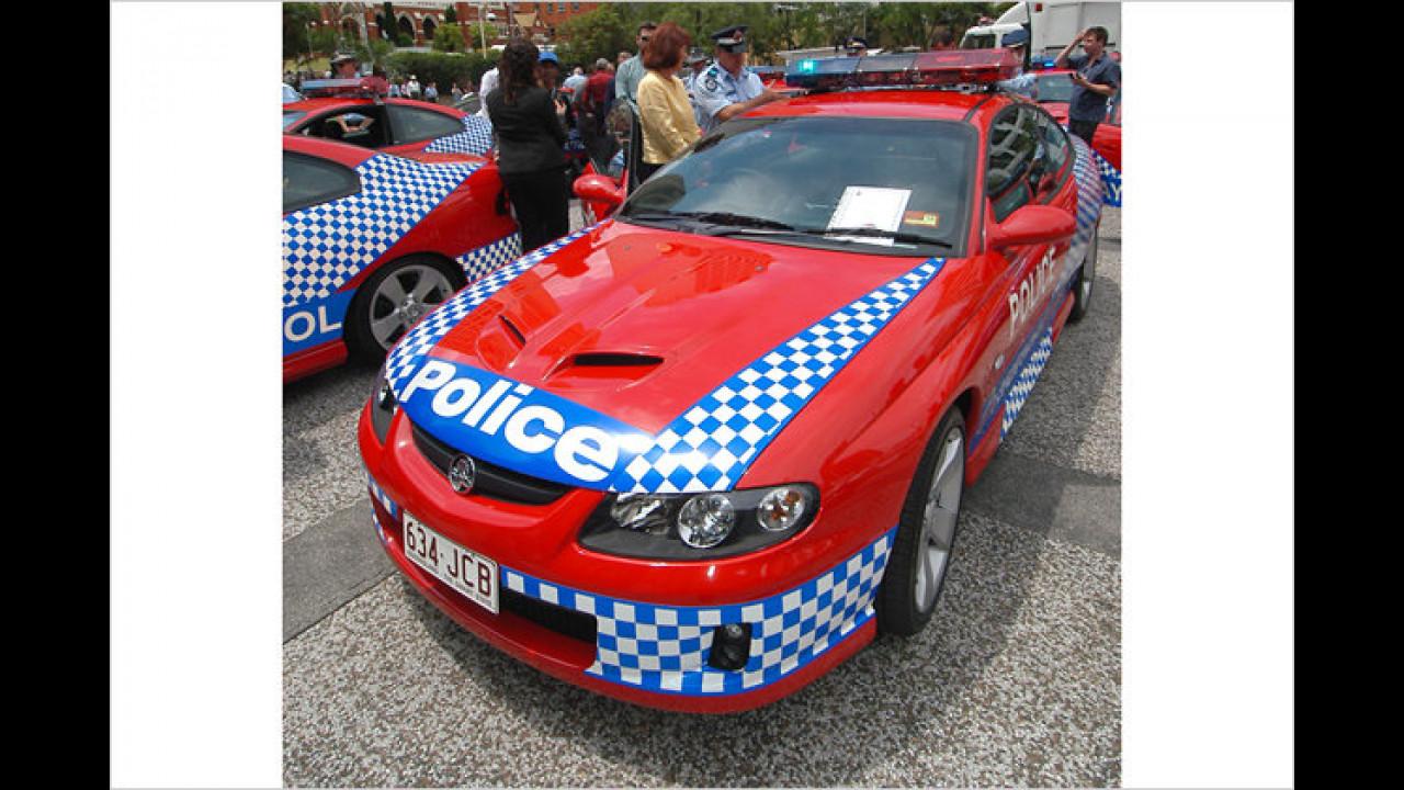 Holden Monaro Queensland Police