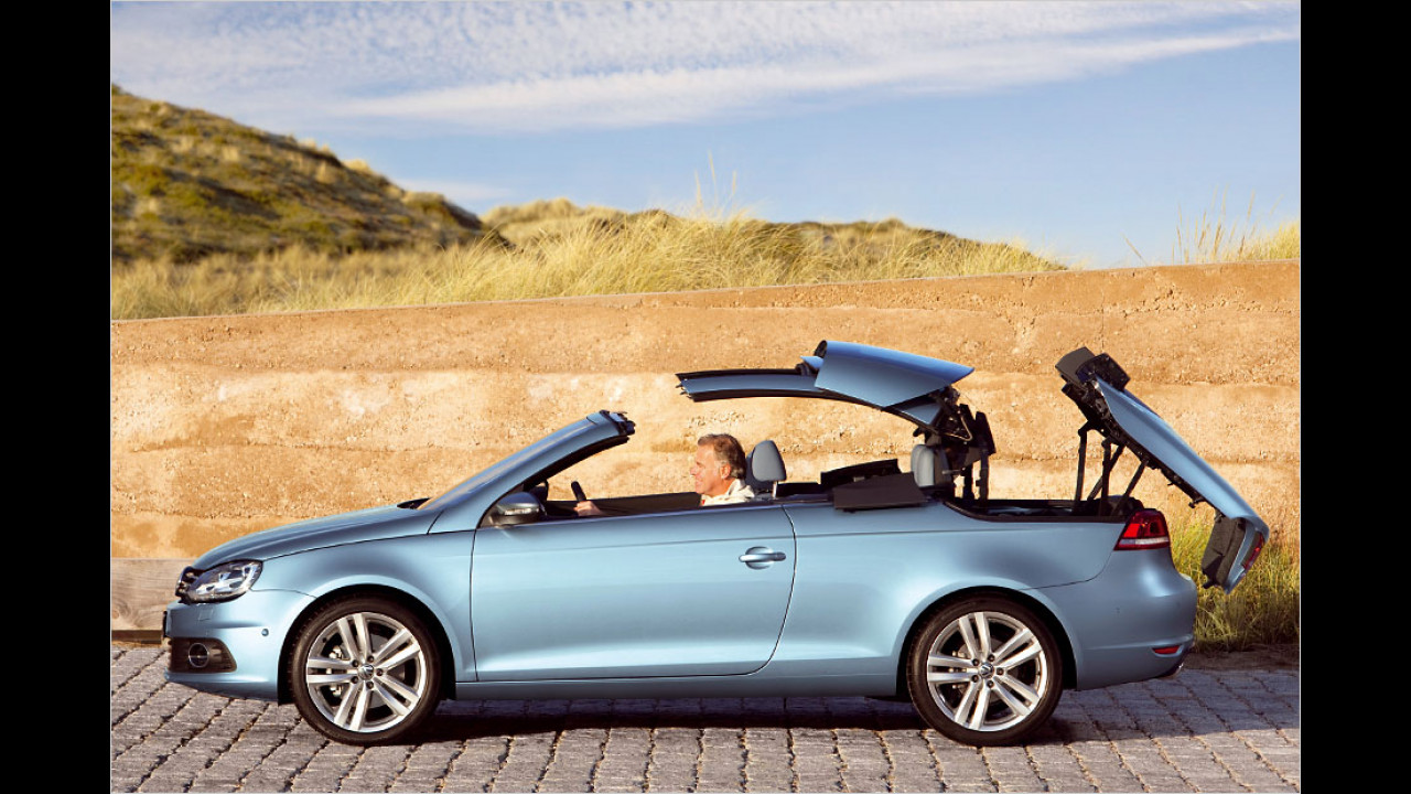 VW Eos (25 Sekunden, nur im Stand)