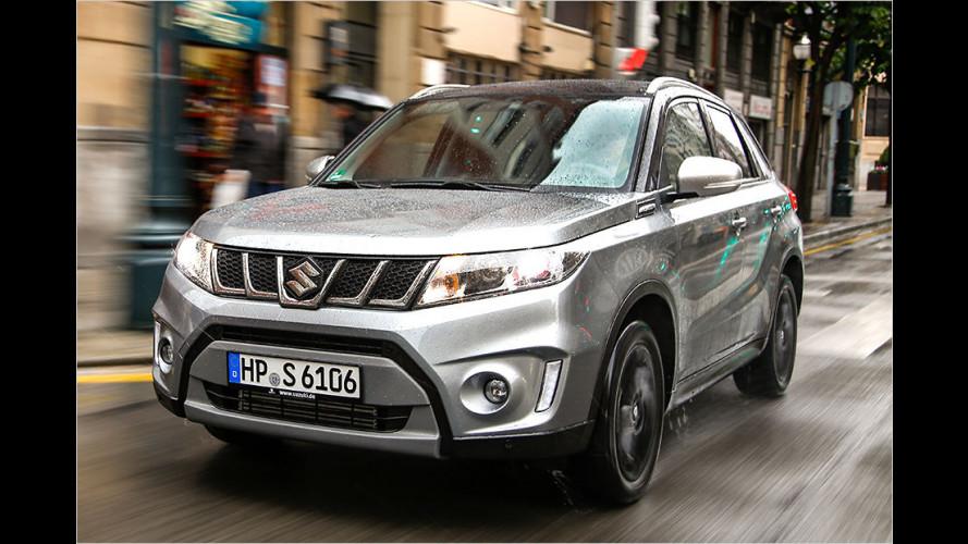 Der neue Suzuki Vitara S (2015) im Test